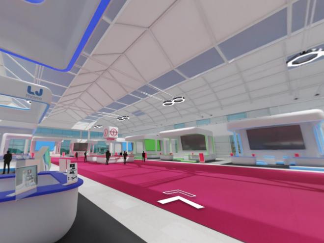 Fiera virtuale 3D
